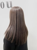 ヘアーアンドメイク ジズー(hair&make zizou)ミルクティーハイライト