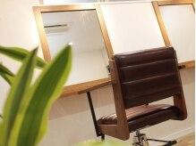 ヘアーサロン ナゴミ(Hair salon nagomi 753)の雰囲気(すわり心地の良いイスです。長時間座っても疲れません。)