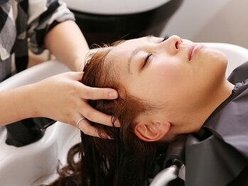 ヘアーラウンジアール(Hair Lounge R)の写真/【吉川美南駅徒歩5分】極上ヘッドスパで地肌も髪もリフレッシュ!産まれたてのようなさらさら素髪へ…♪