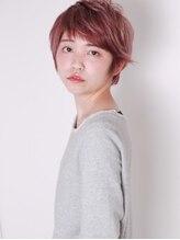 ヘアデザインクラフト(hair design CRAFT)【ノーブル ショート】透け感 とろみ Wカラー