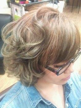 ヘアクリニック レイズ(HAIR CLINIC RAISE)の写真/カットだけで褒められヘアに♪骨格や髪質を見極め、繊細なカット技術で創るあなただけの似合わせStyle☆