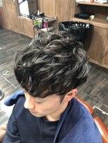 ヘアショップジャマー(Hair shop JAMMER)ショートマッシュ