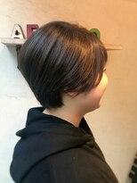 ヘアーメイク アフィーノ(hair make affino)襟足スッキリショートstyle