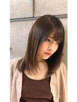 ミンクス 青山店(MINX)カジュアルストレート 髪質改善 美髪 ツヤ髪