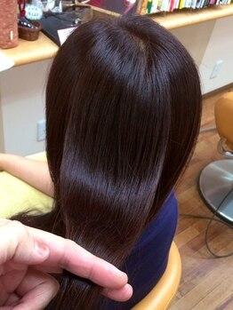 """peu a peuの写真/【頭皮診断で最適なケアをご提案♪】話題の""""ヒト幹細胞培養液""""配合の強髪ヘッドスパで頭皮環境を改善!"""