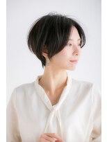 ビス ヘア アンド ビューティー 西新井店(Vis Hair&Beauty)20代30代大人可愛いツヤ感ブランジュハンサムショート