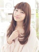 キエマ(Kiema)【Kiema★】大人美髪 ストレート サラふわロング