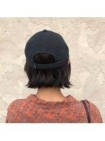 ヘアメイク アプト コンビネーション(HAIR MAKE apt combination)ワンレンBOB