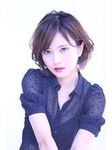 ヘアサロンエム 渋谷店(HAIR SALON M)☆M秋スタイル☆耳掛けライトショート