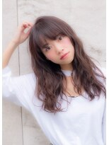 ダミアバイルル(DAMIA by LuLu)41◆フリンジバングでスポンテニアス×小顔カール☆寺田警二