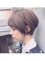 ミヤザキスタイル ハンサムショート 前髪あり