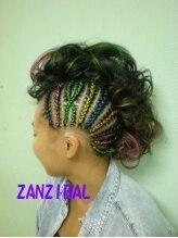 ザンジバル ZANZIBALCORNROW&HAIR SET