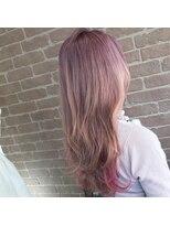 アリス ヘア デザイン(Alice Hair Design)☆Alice☆スノーピンクグラデーション