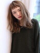 Ruiスタイル急上昇オン眉バング【Violet横浜】