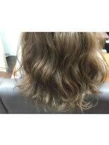 ヘアーアンドメイク ポッシュ 新宿店(HAIR&MAKE POSH)ナチュラルハイライト*アッシュブラウン