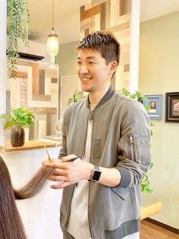 ジェントル(gentle)の写真/気さくなオーナーのみサロンで、マンツーマン施術♪ダメージによる癖や広がりを髪質改善する商材が豊富◎