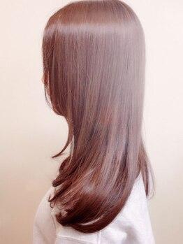美容室 クレイ(CLAY)の写真/確かな技術で叶えるCLAYの縮毛矯正は4種類!髪の状態・なりたい姿に合わせて提案してくれるのが嬉しい☆