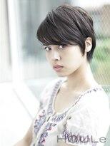 ウル(HOULe)【HOULe】暗髪スッキリショートヘア☆前田賢太☆