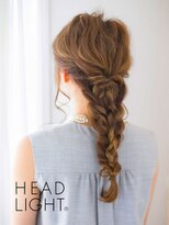 アーサス ヘアー デザイン 駅南店(Ursus hair Design by HEAD LIGHT)*Ursus* 編み込みテールダウンアレンジ