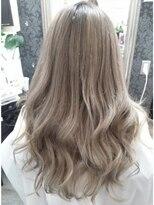 ヘアーグランデシーク(Hair Grande Seeek)透明感◎外国人風♪Ash gray(*^^*)
