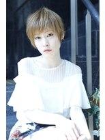 モード ケイズ 塚本店(MODE K's)サラサラ束感丸みのあるクールスタイル大人っぽショート【塚本】
