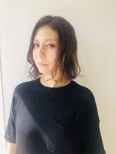 トレパルッキエーレサカイ(tre parrucchiere sakai)[-tre -] ピンクアッシュロブ