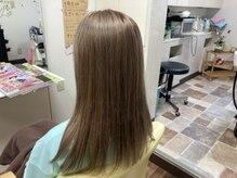 ヘアースタジオ マッシュ(HAIR STUDIO mush)の雰囲気(アッシュベージュも人気です!)