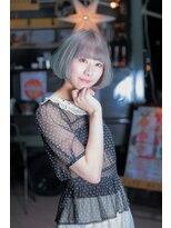 オゥルージュ(Au-rouge noma)【aurouge noma 石井美紗紀】ミルキーカラー 小顔ボブ