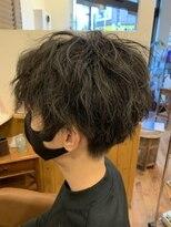 テトラ ヘアー(TETRA hair)ソフトツイストパーマ センターパート