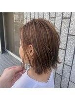 アルマヘアー(Alma hair by murasaki)ハイライトベージュカラー