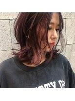 ヘアメイク アプト コンビネーション(HAIR MAKE apt combination)ピンクバイオレット