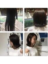 アビタ ヘアーメイク(Habita Hair+Make)多少クセありでも♪乾かすだけで艶ツヤ外ハネスタイル◎^^