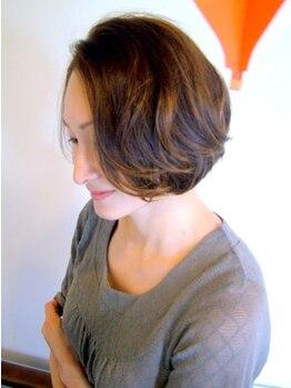 テラス(TERRACE)の写真/伸びてもスタイリングしやすく、毎日決まるスタイルに★前髪のクセ/ハネ/うねり…どんな悩みもcutで解消♪