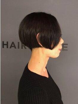 """ビスヘアアンドメイク(BIS hair&make)の写真/決して安くはない。でも一度試してほしい。骨格補正・小顔カットは""""ステップボーンカット""""で叶う ★"""
