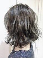 アレーン ヘアデザイン(Alaine hair design)【NAOMI】3D無造作ボブ×ハイローアッシュ