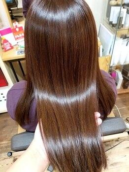 アリシアヘアー(ARISHIA hair)の写真/【くせ毛・髪質でお悩みの貴女へ】髪のダメージストレスやコンプレックスを《ARISHIA hair》が解消します。