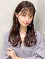 【 LallYou あべ 】 大人気シースルーバング☆