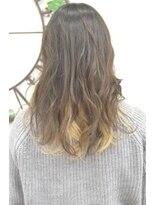 ヘアーサロン エール 原宿(hair salon ailes)(ailes原宿)style312 デザインカラー☆インナーホワイト