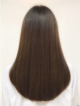 リベルテ(liberte)の写真/<イオグスTr/ナノスチームによる上質ケア>本格髪質改善で今までにない潤いとツヤ・指通りを実感♪