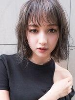 マイ ヘア デザイン(MY hair design)外国人風グレージュ3Dハイライトグラデーション