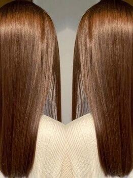 ヨーロー(YOLO)の写真/<YOLO五反田>ヘアケア資格保有のオーナー厳選◎やればやるほど綺麗になる髪質改善トリートメント!