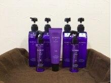 ヘアメイク 紫蘭の雰囲気(髪へのエイジングケアを重視した薬剤を取り揃えております◇)