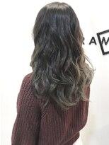 フレイムスヘアデザイン(FRAMES hair design)艶感イルミナカラー♪外国人風グレージュStyle