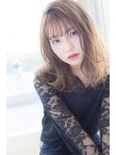 ルクア 恵比寿(LUCUA)ゆるウェーブ☆彡シースルーバング