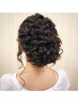 ヘアセットサロン アトリエ チャイ(Hair set salon atelier CHAI)編み編みつるんとボリュームアップ