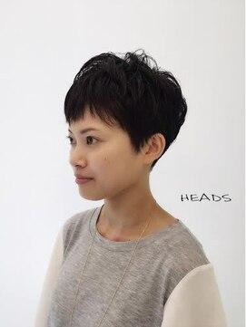 ヘッズ 市川(HEADS ex)市川《HEADS》Moe 無造作ベリーショート