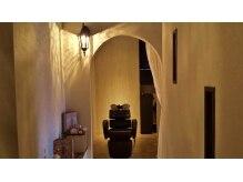 アンベリールヴィータ(Ambellir vita)の雰囲気(シャンプー台も半個室で、あなただけの空間です♪)