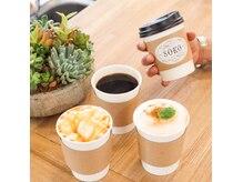 ソーコ(SOKO)の雰囲気(併設のカフェも気軽にご利用ください♪テイクアウトもできます!)