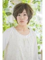 オーガニックサロン フェイス 梅田店(organic salon face)ゆるフワアッシュ☆ショートボブ