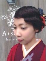 卒業式アレンジ ハイカラさんが通る 『耳隠し』